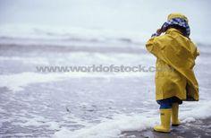 I love yellow raincoats and boots