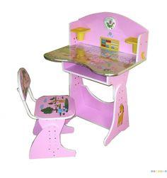Birou cu scaunel reglabile HC73 Babyland