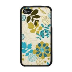 Awesome vintage print iPhone 4 case!