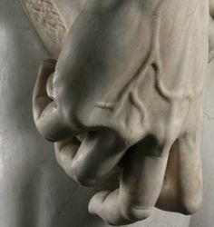 david...hand detail...perfection by Michelangelo Buonarroti