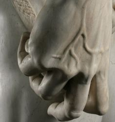 david...hand detail...perfection by Michelangelo Buonarroti