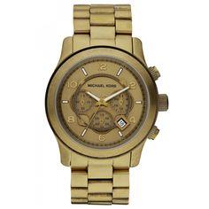 Michael Kors MK8227 Men's Runway Oversized Bronze Plated Bracelet Watch