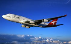 """Qantas Boeing 747-438 VH-OJH """"City of Darwin"""" in a promotional image for the airline. VH-OJH served Qantas for 22 years. (Image: Qantas)"""