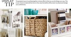 Ideas about Home: Home Office Decorating Ideas & Decorating Home Office | Pottery Barn