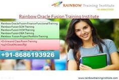 Rainbow Training Institute offering Oracle Fusion HCM Training Course in Hyderabad, Pune, Chennai, Mumbai, Bangalore, India, USA, UK, Australia, New Zealand, UAE, Saudi Arabia, Pakistan, Singapore, Kuwait