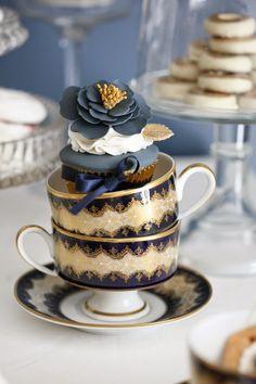 Elegant tea party