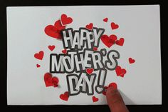 Make a light-up Mothers Day card using copper tape, LED and a coin cell battery. Free PDF project template included with tutorial. Great STEM, STEAM or makerspace project for school, library or home. My Mom Poem, Mother Poems From Daughter, Happy Mothers Day Poem, Mom Poems, Mother Day Message, Funny Mothers Day, Mothers Day Cards, Mother's Day Buffet, Paper Circuit