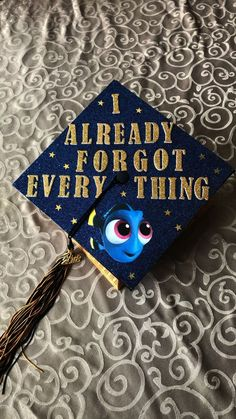 Struggling to figure out how to decorate a graduation cap? Get some inspiration from one of these clever DIY graduation cap ideas in These high school and college graduation cap decorations won' Funny Graduation Caps, Graduation Cap Designs, Graduation Cap Decoration, Graduation Diy, Graduation Quotes, Disney Graduation Cap, Funny Grad Cap Ideas, Graduation Announcements, Graduation Invitations