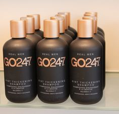 Just in and now available for purchase! Be a man and grab your very own GO 247 Mint Thickening Shampoo at Elle Salon! @UNITE Hair   www.ellesalon.net