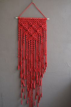 Decorate Your House with Macrame Wall Hanging: Macrame Basic Knots | Free Macrame Patterns And Instructions | Macrame Wall Hanging
