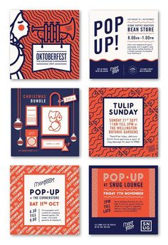 Lovely branding project for Montfoort designed by Playhaus . Beautiful typography, colour and pattern work! via Fancy . Lovely branding project for Montfoort designed by Playhaus . Beautiful typography, colour and pattern work! via Fancy . Layout Design, Design De Configuration, Flugblatt Design, Buch Design, Form Design, Modern Design, Design Food, Design Ideas, Happy Design