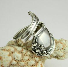 Sterling Silver Spoon Ring   Victorian by CaliforniaSpoonRings, $80.00