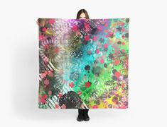 """""""Vandal The Abstract Graffiti Style Painting"""" Scarves by jaggerstudios Iphone Wallet, Iphone Cases, Graffiti Styles, Chiffon Tops, Scarves, Abstract, Poster, Painting, Scarfs"""