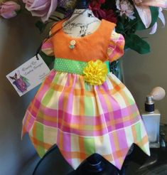 Party dog dress size xx small by OsuzyQsLapdogDesigns on Etsy