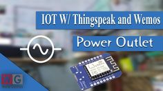 IOT:  Power outlet controlled from internet using WeMOS