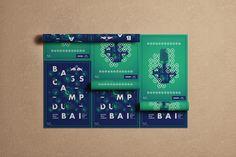 Poster Design for Red Bull Music Academy Bass Camp Dubai