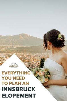 How to elope in the city of Innsbruck - a complete guide Innsbruck, Elopement Inspiration, Alps, Austria, Wedding Planning, Hiking, Adventure, How To Plan, Couples
