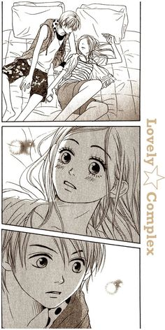 Lovely Complex_Manga Scene by Mary-Gotika.deviantart.com on @deviantART