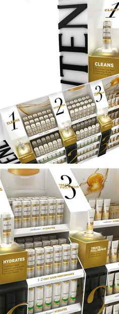 Shopper branding. POP. #retailexhibition. Pantene. Dubai. www.tmgroupweb.com Pos Display, Display Design, Display Shelves, Store Design, Point Of Purchase, Point Of Sale, Pos Design, Retail Design, Merchandising Displays