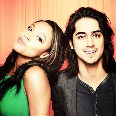 Kylie Bunbury & Avan Jogia #twisted they would make a NICE Shana and Rio - I know Avan can sing. I heard Kylie can too, sigh, one could only dream...