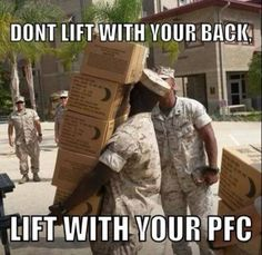 In the meantime, check out these 13 funny military memes: Marine Memes, Marine Corps Humor, Us Marine Corps, Marine Core, Military Jokes, Army Humor, Army Memes, Army Life, Military Life