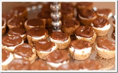 Smores cups. I have tons of extra smores stuff so this might  be happening soon!