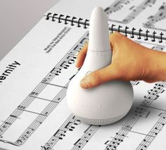 Read the music translates sheet music into sound. - Medium Assistive Technology for the visually impaired. Assistive Technology, Cool Technology, Futuristic Technology, Energy Technology, Technology Gadgets, Music Education, Special Education, Braille, Music Therapy