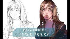 [MediBang] Beginner Tips & Tricks Jyundee Digital Painting Tutorials, Digital Art Tutorial, Art Tutorials, Painting Tips, Drawing For Beginners, Drawing Tips, Drawing Journal, Drawing Ideas, Drawings Pinterest