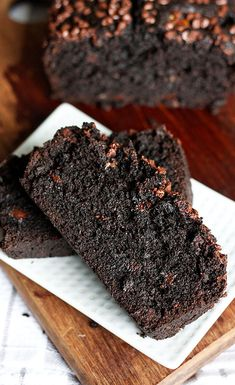 Chocolate Banana Bread - This got great reviews and a few people used white whole wheat flour instead of AP and said it turned out well.