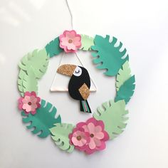 - Lilly is Love Decoration Creche, Class Decoration, Tropical Party, Tropical Decor, Diy For Kids, Crafts For Kids, Jungle Decorations, Deco Jungle, Summer Deco