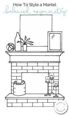 Terrific Photo Fireplace Remodel mantle Ideas How To Style a Mantel Four Ways – whether you want a casual look or formal, eclectic or minimal, Farmhouse Fireplace, Home Fireplace, Fireplace Ideas, Mantle Ideas, Fireplace Remodel, Mirror For Fireplace, Fireplace Design, How To Decorate Fireplace, Above Fireplace Decor