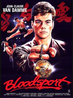 Bad Movie Tuesday: Bloodsport Van Damme at his spin-kicking best versus the Kumite and Bolo Yeung's pecs. 80s Movies, Cult Movies, Action Movies, Good Movies, Movie Tv, Action Film, Bloodsport Movie, Claude Van Damme, Image Internet