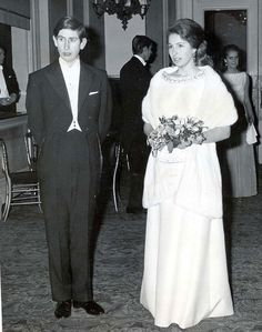 Princess Anne and Prince Charles. I always wondered why he didn't do something about those ears.
