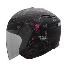 GMax Womens GM67 Butterfly Helmet, maybe my new helmet, but with purple?