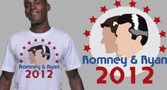 Get your Romney Ryan 2012 t-shirt before the next rally