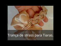 Tiara LUXUOSA com pérolas e Stratiara ss:by Manu Artes - YouTube