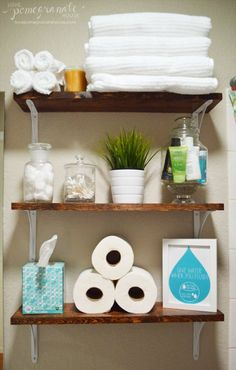 1000 ideas about over toilet storage on pinterest for 26 great bathroom storage ideas
