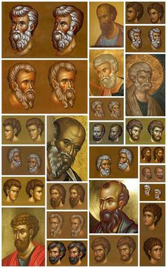 See the source image Byzantine Icons, Byzantine Art, Religious Icons, Religious Art, Writing Icon, Paint Icon, Face Icon, Russian Icons, Soul Art