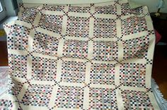 Postage Stamp Quilt Along -  finished sq is 1 inch !!  Heather Stewart Quilts