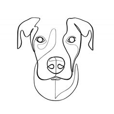 marketplace to buy and sell handmade items. - One Line Artist and Illustrator by WithOneLine on Etsy -Your marketplace to buy and sell handmade items. - One Line Artist and Illustrator by WithOneLine on Etsy - Custom Dog Portraits, Pet Portraits, Dog Line Drawing, Dog Line Art, Line Artist, Dog Paintings, Dog Tattoos, Pet Memorials, Dog Lover Gifts