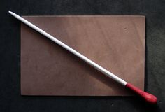 Music Conductor's Custom Purpleheart Music Baton with Gift Box