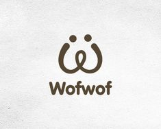 Wofwof Logo design - Brand is perfect for business with pets or anything else you may see fit as my inspiration was a dog's head. Price $250.00