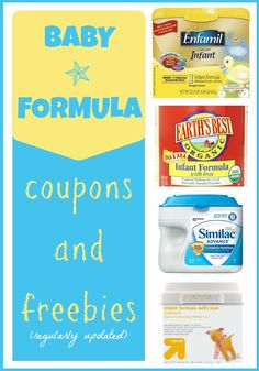 This Baby Formula Coupons and Freebies list is guaranteed to save you money!
