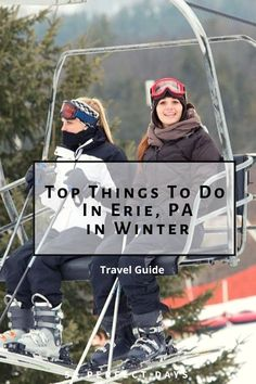 Top Erie PA Things To Do In Winter. An average annual snowfall of over 100 inches, Erie is a winter wonderland with ice boats and ice-fishing. Travel With Kids, Family Travel, Presque Isle State Park, Erie Pennsylvania, Stuff To Do, Things To Do, Erie County, Great Lakes Region, Cross Country Skiing