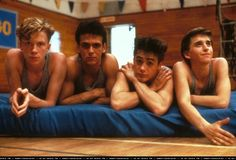 The boys of Weird Science, including a very young Robert Downey Jr. - Tumblr