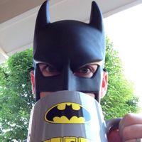 BatDad video omg soooo funny. WAKE UP!!!! @ 0:31 the poor Kid's like; all startled and tired lol