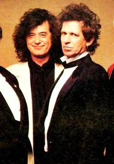 Jimmy Page & Keith Richards