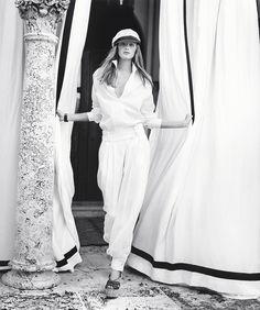 Sanne Vloet stars in Ralph Lauren's spring 2016 campaign