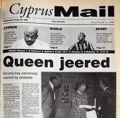 Queen jeered - October 20, 1993