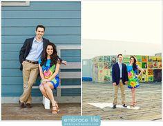 Santa Monica Pier Engagement Photography